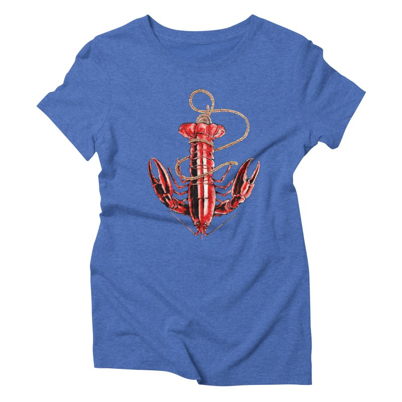 Anchor Women's Triblend T-shirt by Andrej Zwetzig