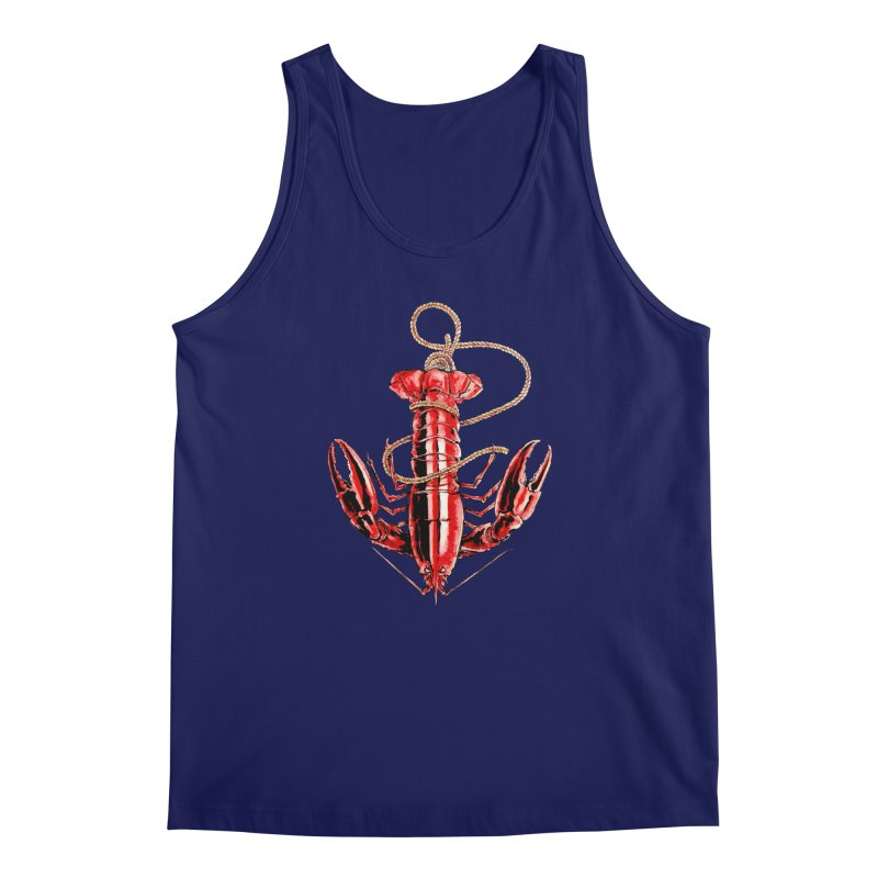 Anchor Men's Tank by Andrej Zwetzig