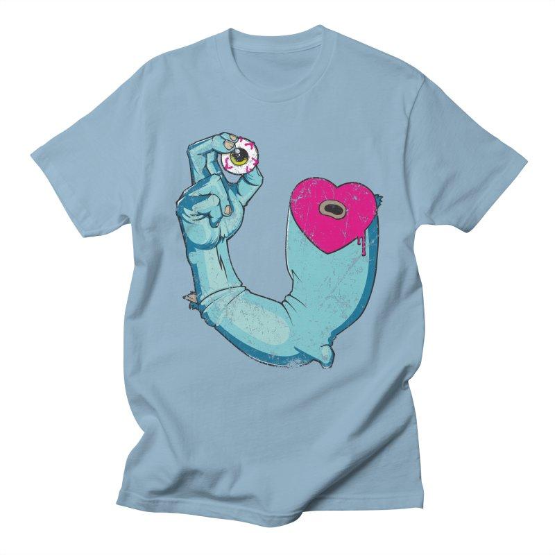 EYE LOVE U Men's T-shirt by Andrej Zwetzig