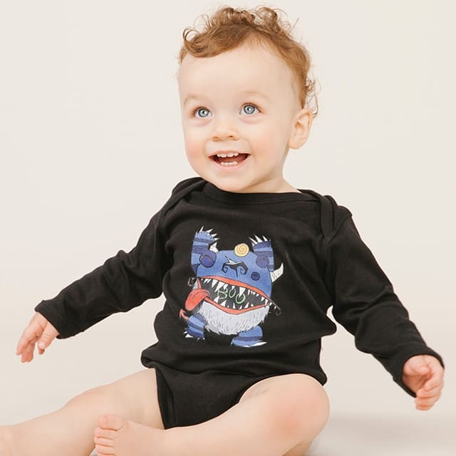 Baby bodysuit - Monster Baby Tee