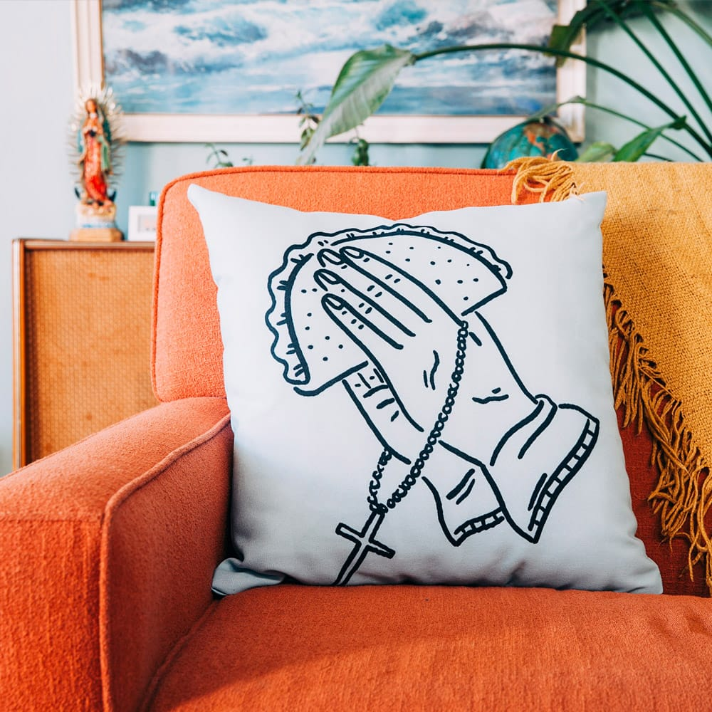 Digitally printed pillow