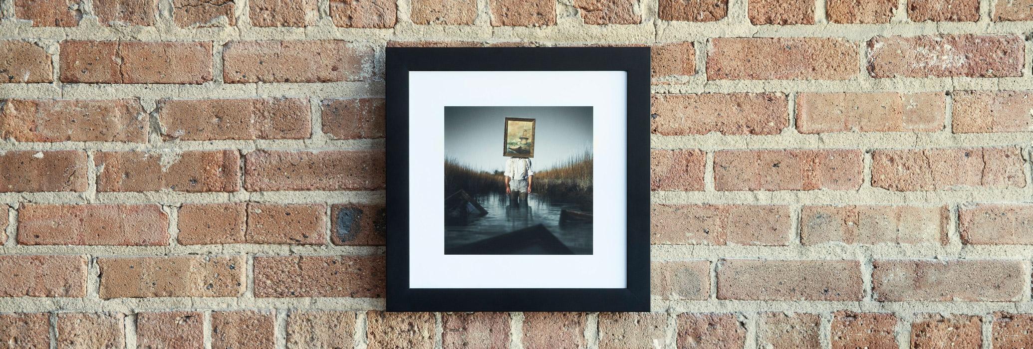 Framed art print example