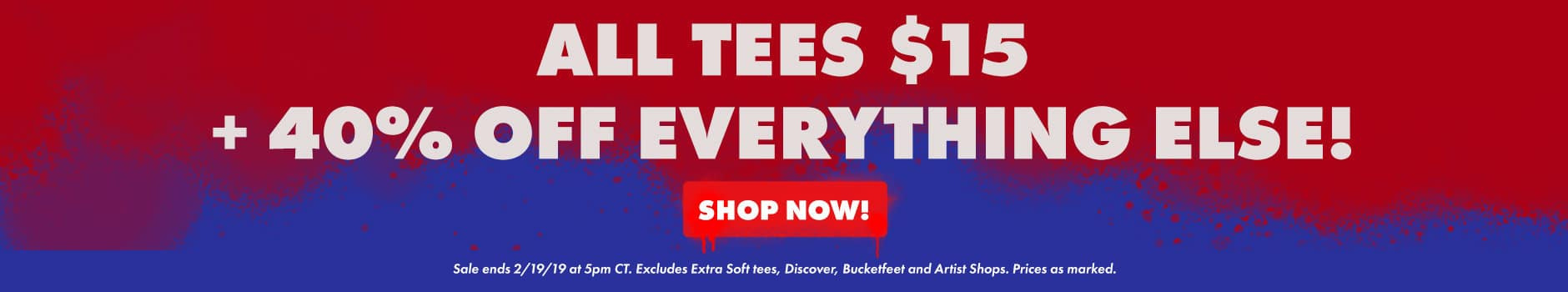 Shop the President's Day Sale Extended
