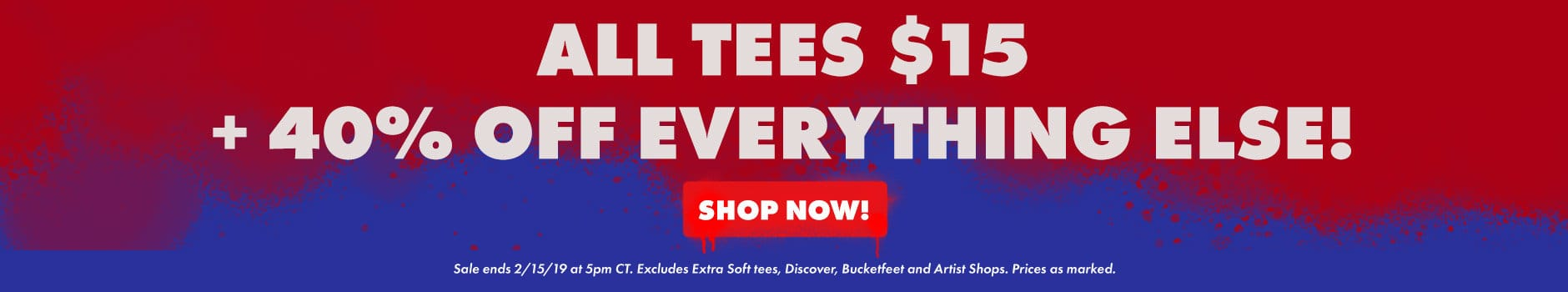 Shop the President's Day Sale