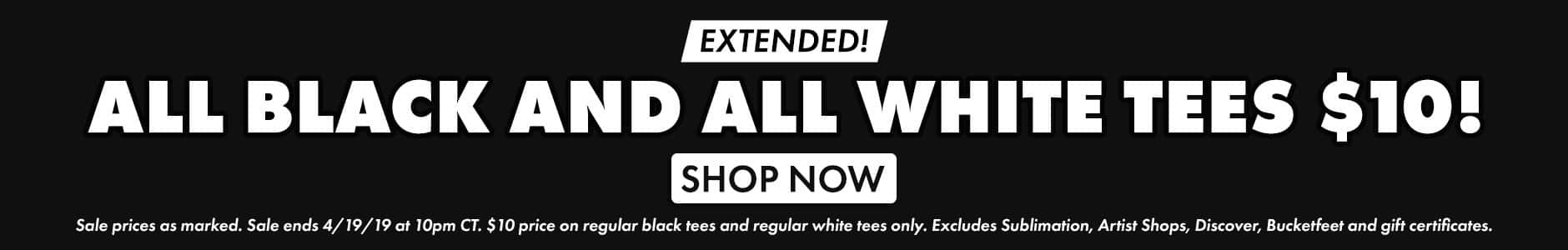 Shop the Black and White Sale
