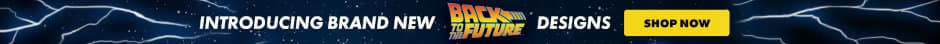 Introducing brand new Back To The Future designs. Shop now.