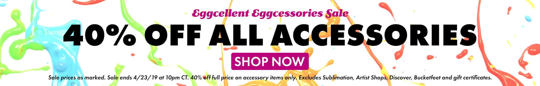 Shop 40% off Accessories