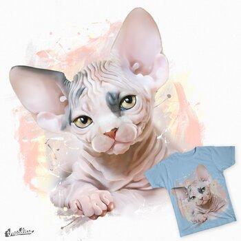 Charming kitten