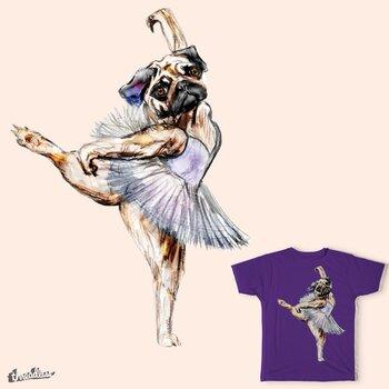 Pug Ballerina