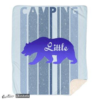 Retro Style Camping. Bear 'Little One' Blanket. I'm in a bear mood. 'Little' Blanket