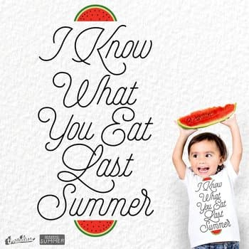 i know what you Eat last summer