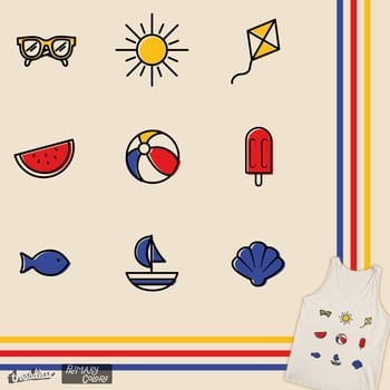 Primary Summer Icons
