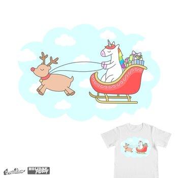 Unicorn Sleigh