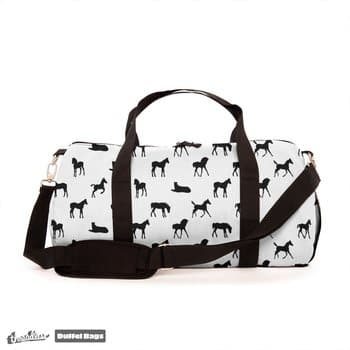 Foals All Over Pattern Duffel Bag