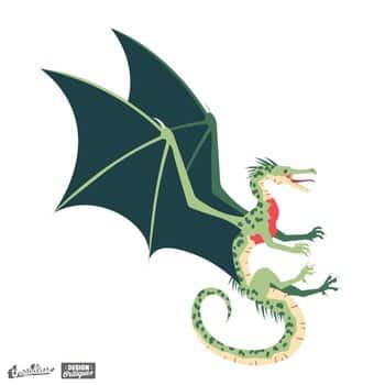 Green Forest Dragon