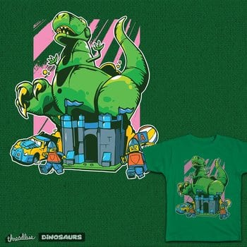 Cartoon Robo Dinosaur