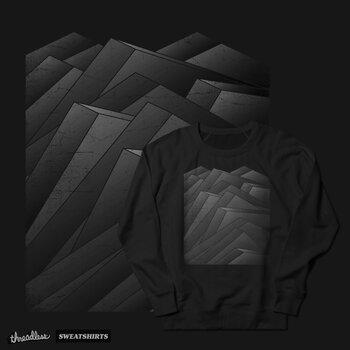 Isometric Waves / rework / bw version