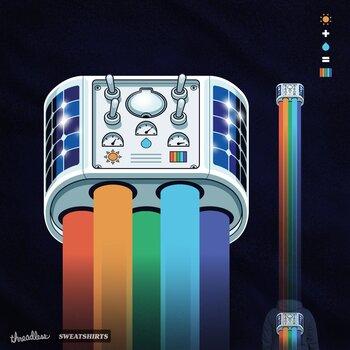Rainbow Powered Jetpack.