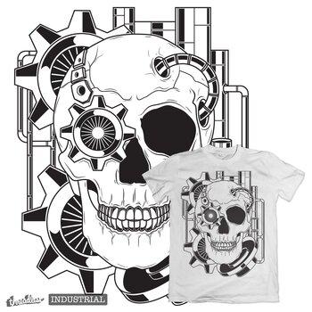 Skull Steampunk Industrial