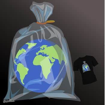 Plastic Wrapped - Earth