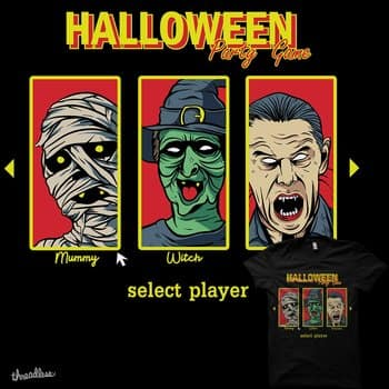 Halloween Part Game