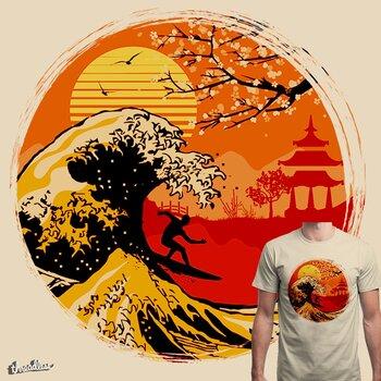 KANAGAWA'S SURFER