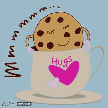 Mmmm...Cookie chip hugging hot choco cup