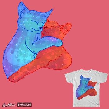 Snugling Kitten