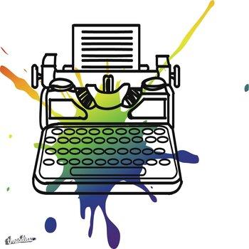 Retro Typewriter Pop