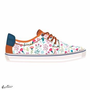 Trendy Floral Shoes