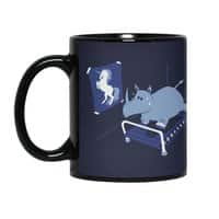 Runnin' Rhino - black-mug - small view