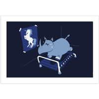 Runnin' Rhino - horizontal-print - small view