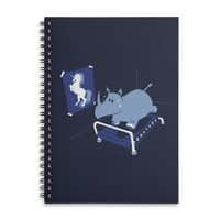 Runnin' Rhino - spiral-notebook - small view