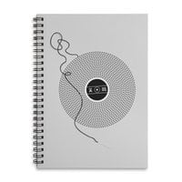 Put the Needle on the Record - spiral-notebook - small view