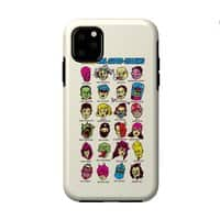 The League of Cliche Evil Super-Villains - double-duty-phone-case - small view