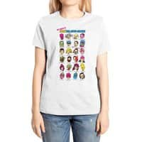 The League of Cliche Evil Super-Villains - womens-extra-soft-tee - small view