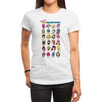 The League of Cliche Evil Super-Villains - womens-regular-tee - small view