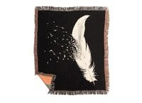 Birds Of A Feather - woven-blanket - small view
