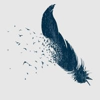Birds Of A Feather By Ross Zietz Mens Extra Soft Tee