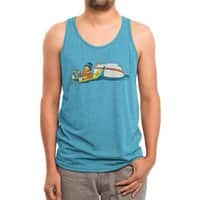 Happy Thoughts - mens-triblend-tank - small view