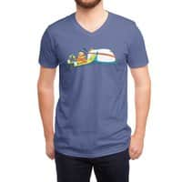 Happy Thoughts - vneck - small view