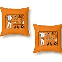 Clockwork Kit - throw-pillow - small view