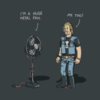 Metal Fan - small view