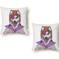 Ziggy Stardog - throw-pillow - small view