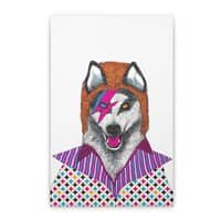 Ziggy Stardog - vertical-stretched-canvas - small view