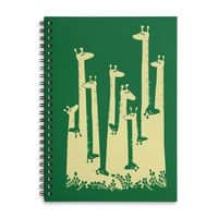 Such A Great Height - spiral-notebook - small view