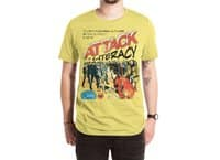 Attack of Literacy! - mens-extra-soft-tee - small view
