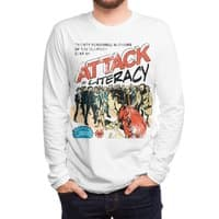 Attack of Literacy! - mens-long-sleeve-tee - small view