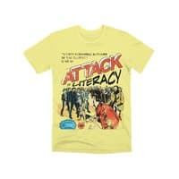 Attack of Literacy! - mens-premium-tee - small view
