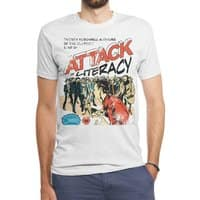 Attack of Literacy! - mens-triblend-tee - small view